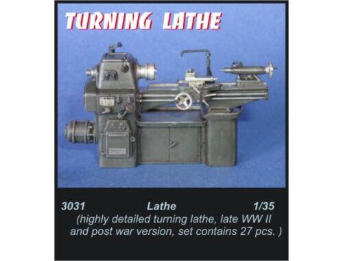 CMK Turning lathe 1:35 (3031)