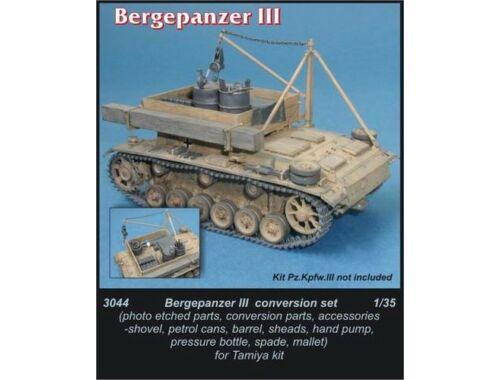 CMK Bergepanzer III - conversion set for TAM 1:35 (3044)