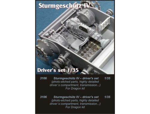 CMK StuG IV drivers set for Drag. 1:35 (3106)