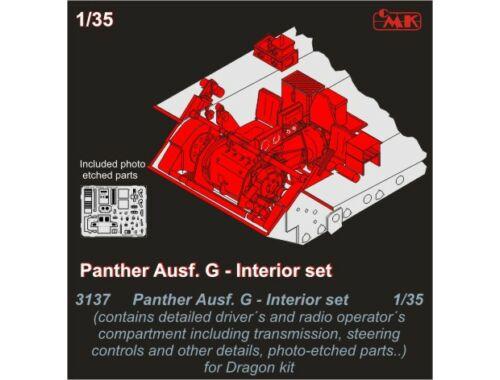 CMK Panther Ausf.G Drivers set for Drag.kit 1:35 (3137)