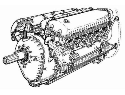 CMK Allison V-1710 - Am. engine of WW II 1:48 (4032)