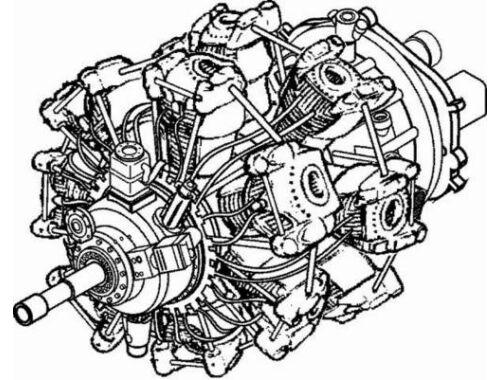 CMK BMW 801 - German engine of WW II 1:48 (4035)