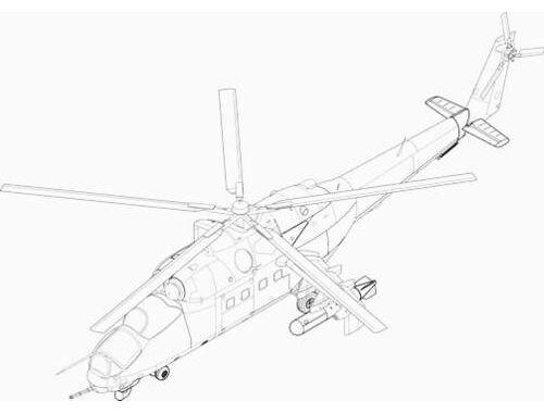 CMK Mi-24 V/P - exterior set for MON/REV 1:48 (4081)