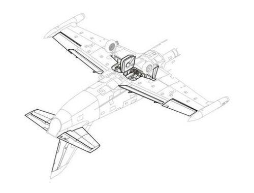 CMK L-39C - exterior set for MPM 1:48 (4083)