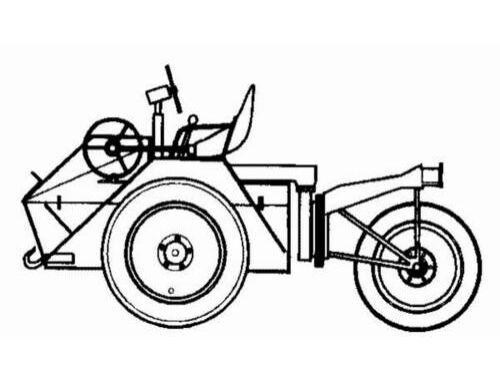 CMK Schleuch-Schlepper for Me-163B 1:48 (4090)
