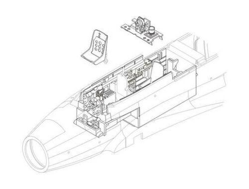 CMK J1N Irving - interior set for TAM 1:48 (4096)