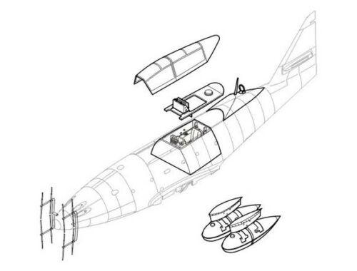 CMK Me 262B-1a/B1a/U1 (two seater,contains Eduard 1:48 (4113)