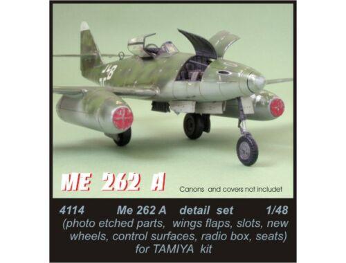 CMK Me 262A - detail set for TAM 1:48 (4114)