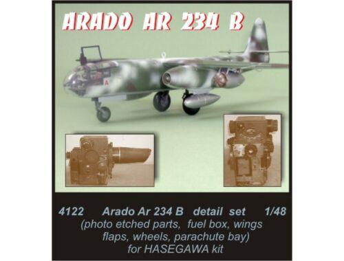 CMK Arado Ar-234 B - detail set for HAS 1:48 (4122)