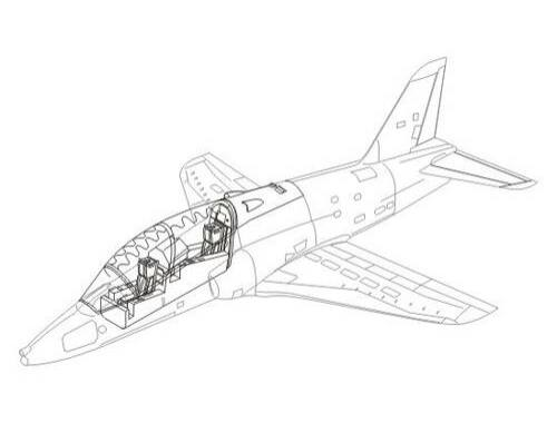 CMK Hawk - interior set for AIR 1:48 (4142)