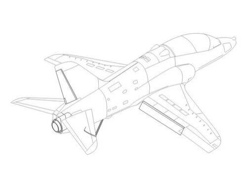 CMK Hawk - control surfaces set for AIR 1:48 (4144)