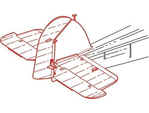 CMK Fairey Swordfish - control surfaces set for T 1:48 (4163)