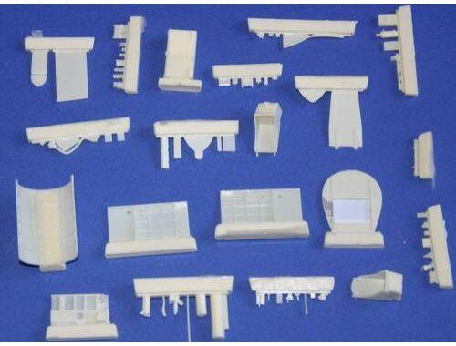 CMK Buffalo - interior set set for SH/CRA 1:48 (4170)