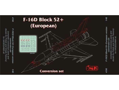 CMK F-16C/D Block 52 European(enginPW)for HAS 1:48 (4190)
