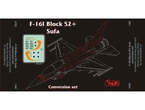 CMK F-16I SUFA IAF (eng.PW) conv.set for HAS 1:48 (4192)