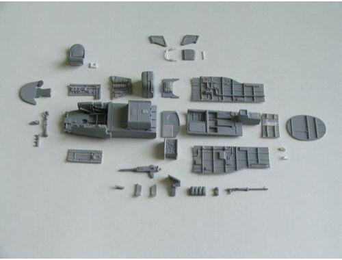 CMK Ki 45 Toryu interior set for HAS 1:48 (4206)