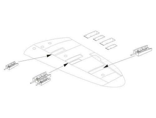 CMK Spitfire Mk.I - Armament set for TAM 1:48 (4264)