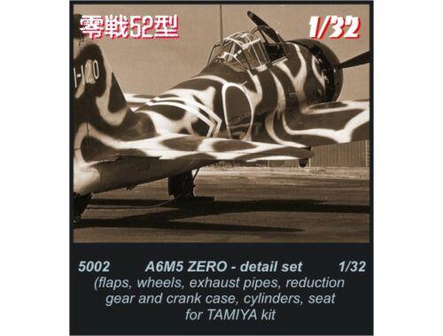 CMK A6M5 - detail set for TAM 1:32 (5002)