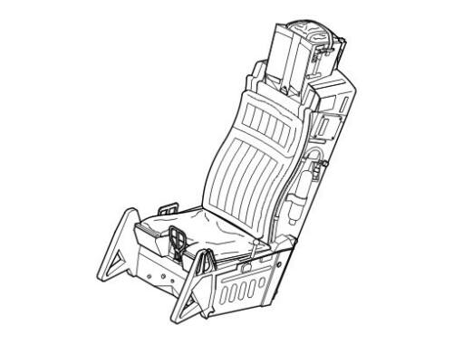 CMK Ejection seat for F-16 1:32 (5014)