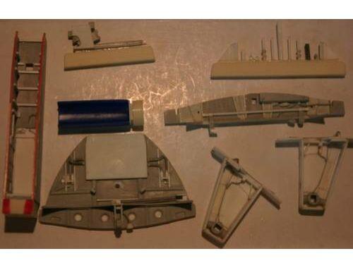 CMK Me 262A udercarriage set for Trumpeter 1:32 (5017)