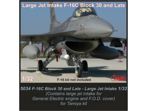 CMK F-16C Block 30 and Late-Large Jet Intake for 1:32 (5034)