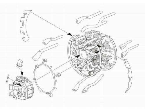 CMK A6M5 Zero - engine set for TAM 1:32 (5038)
