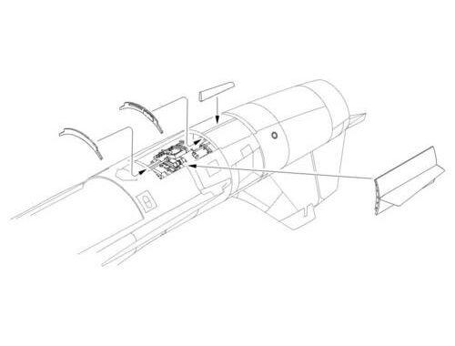 CMK F-104G Starfighter - Engine set for Has 1:32 (5056)