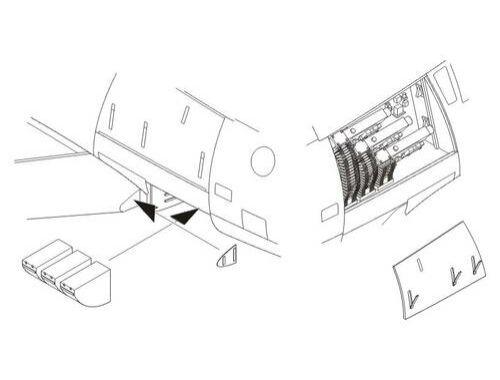 CMK F-86F-40 Sabre-Armament set for HAS 1:32 (5062)