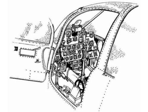 CMK P-39Q - interior set for ACA 1:72 (7006)