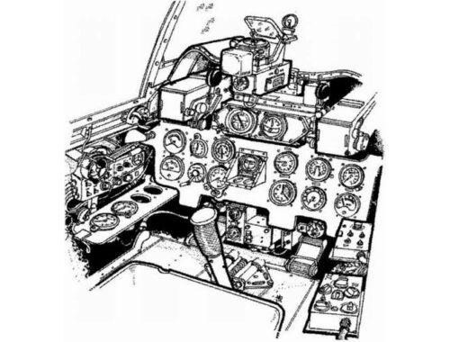 CMK A6M5c Zero - interior set for ACA 1:72 (7009)