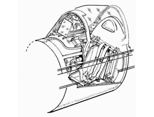 CMK F4U-1 Corsair - interior set for REV 1:72 (7011)
