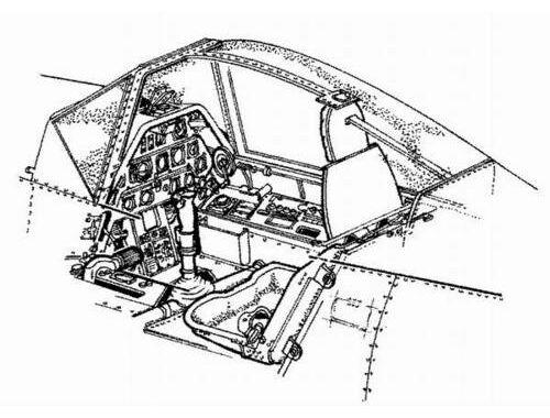 CMK Fw 190A - interior set for REV 1:72 (7014)