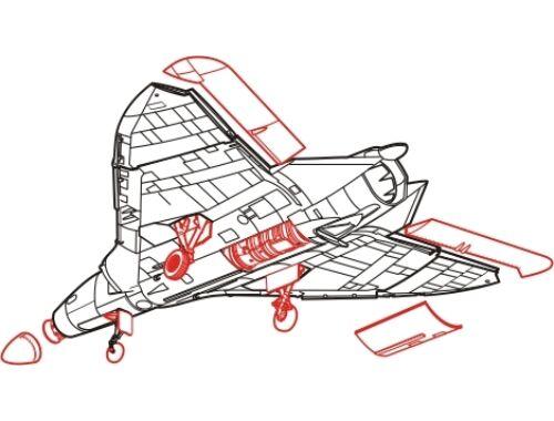 CMK F4D-1 - detail set for TAM 1:72 (7016)