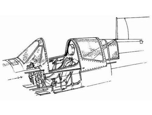 CMK P-40M/N - interior set for ACA 1:72 (7021)