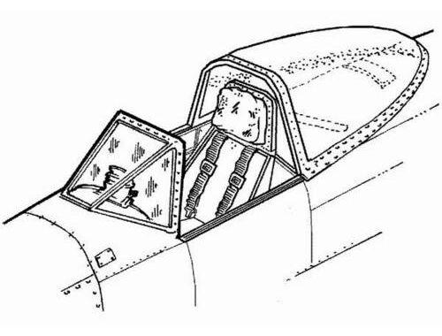 CMK Typhoon Mk.Ib - interior set for ACA 1:72 (7022)