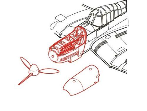 CMK Ju-87G - engine set for ACA (Jumo 211) 1:72 (7055)