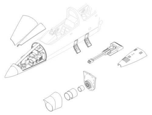 CMK L-39 C/ZA - armament set for EDU 1:72 (7085)