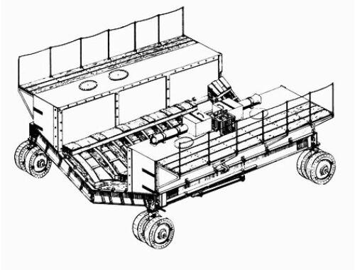"CMK BV - 222 - towing cars ""Dockwagen"" 1:72 (7088)"
