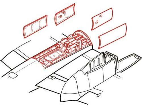 CMK Mosquito Mk.IV - armament set for HAS 1:72 (7116)