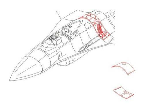 CMK F-16C - armament set for HAS 1:72 (7117)