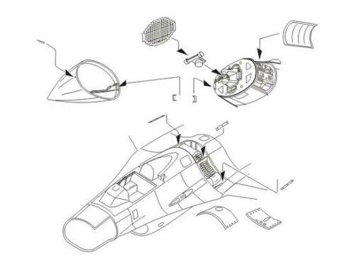 CMK F-16CG/CJ Fightning Falcon armament set for A 1:72 (7176)