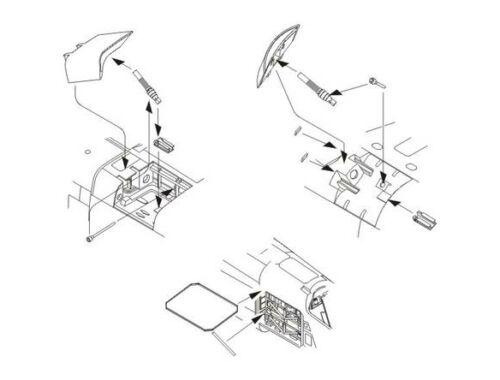 CMK TSR 2 - Speed brakes and avionics bay Airf. 1:72 (7190)