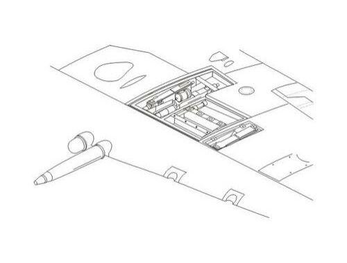 CMK Spitfire Mk.IX - Wing Armament set for Airf. 1:72 (7196)