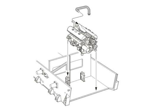 CMK Pz.Kpfw IV - Engine set 1:48 (8045)