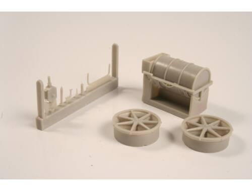 CMK German WW I Refuelling set – All resin kit 1:48 (8052)