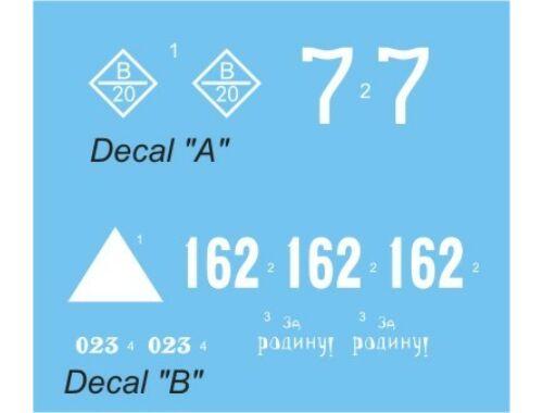 "CMK T-34/76 ""Krasnoe Sormovo"" Decal sheet 1:48 (B48073)"