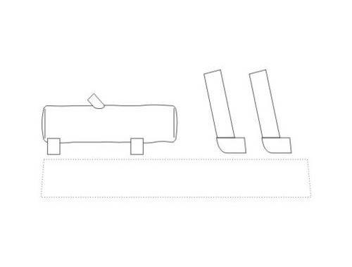 CMK Exhaust for Pz.Kpfw IV for Rev,Drag,HAS it 1:72 (B72043)