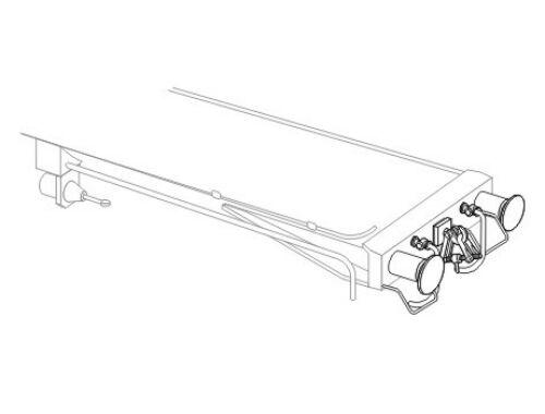 CMK Germ.wagon Couplers and Coupling rods WW II 1:72 (B72044)