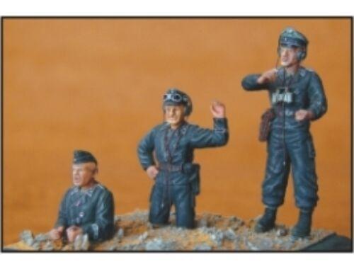CMK German Tank Crew (3 fig.) 1:35 (F35001)