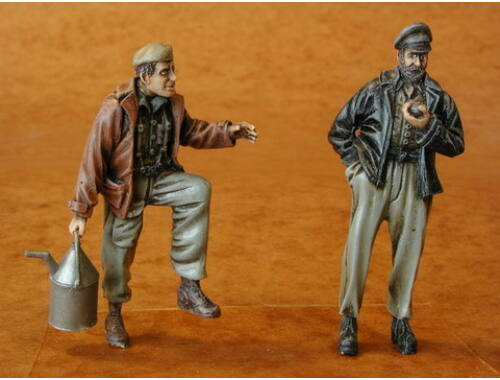 CMK Railwaymen WWII, part I. (2 fig.) 1:35 (F35066)